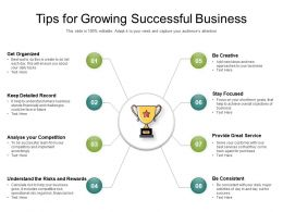 Tips For Growing Successful Business