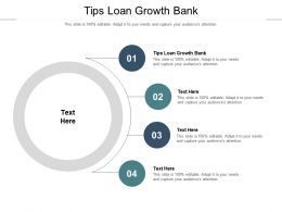 Tips Loan Growth Bank Ppt Powerpoint Presentation Icon Graphics Pictures Cpb