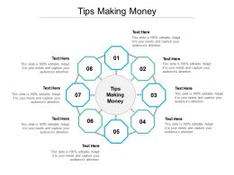 Tips Making Money Ppt Powerpoint Presentation Layouts Slide Cpb