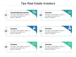 Tips Real Estate Investors Ppt Powerpoint Presentation Background Image Cpb