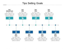Tips Setting Goals Ppt Powerpoint Presentation Professional Portfolio Cpb
