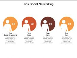 Tips Social Networking Ppt Powerpoint Presentation Professional Show Cpb
