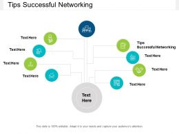 Tips Successful Networking Ppt Powerpoint Presentation Pictures Cpb