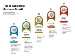 Tips To Accelerate Business Growth