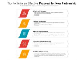 Tips To Write An Effective Proposal For New Partnership