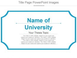 Title Page Powerpoint Images