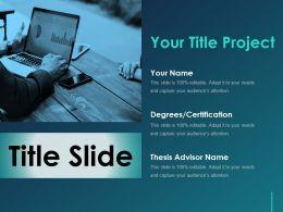 Title Slide Ppt Slide Download