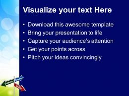 Today Tomorrow Signpost Future Powerpoint Templates Ppt Themes And Graphics