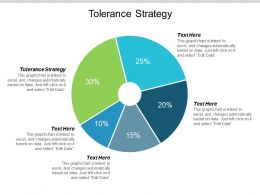 Tolerance Strategy Ppt Powerpoint Presentation Icon Structure Cpb