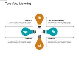 Tone Voice Marketing Ppt Powerpoint Presentation Infographic Template Inspiration Cpb