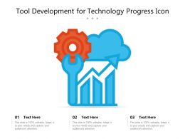 Tool Development For Technology Progress Icon