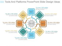 Tools And Platforms Powerpoint Slide Design Ideas