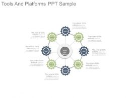 Tools And Platforms Ppt Sample