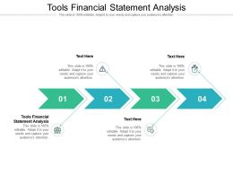 Tools Financial Statement Analysis Ppt Powerpoint Outline Template Cpb
