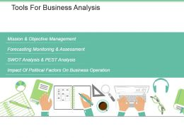 Tools For Business Analysis Powerpoint Slide Presentation Tips