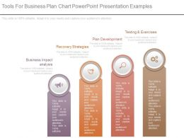 Tools For Business Plan Chart Powerpoint Presentation Examples