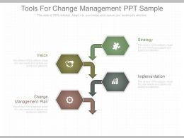 Tools For Change Management Ppt Sample