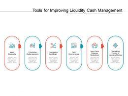 Tools For Improving Liquidity Cash Management