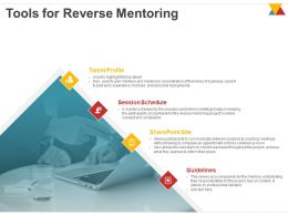 Tools For Reverse Mentoring Ppt Powerpoint Presentation Slides Graphic