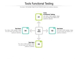 Tools Functional Testing Ppt Powerpoint Presentation Infographic Cpb