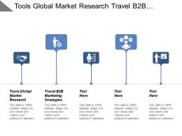 Tools Global Market Research Travel B2b Marketing Strategies Cpb