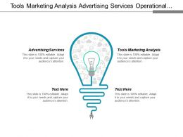 Tools Marketing Analysis Advertising Services Operational Risk Consumer Marketing Cpb
