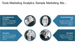Tools Marketing Analytics Sample Marketing Mix Professional Service Marketing Cpb