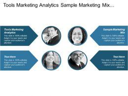 Tools Marketing Analytics Sample Marketing Mix Professional Service Marketing Cpb