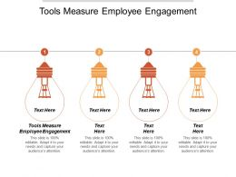 Tools Measure Employee Engagement Ppt Powerpoint Presentation Infographic Template Shapes Cpb
