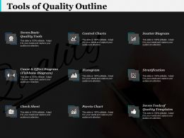 Tools Of Quality Outline Ppt Infographic Template Infographic Template