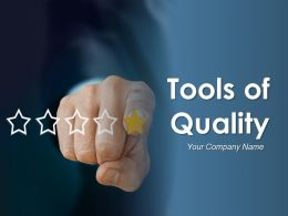 Tools Of Quality Powerpoint Presentation Slides