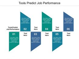 Tools Predict Job Performance Ppt Powerpoint Presentation Outline Maker Cpb