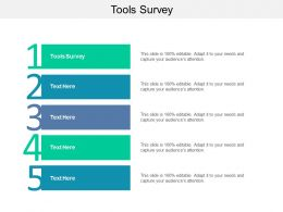 Tools Survey Ppt Powerpoint Presentation Model Cpb