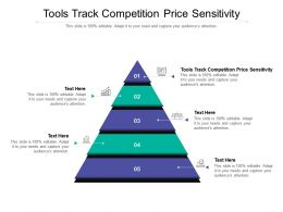 Tools Track Competition Price Sensitivity Ppt Powerpoint Presentation Pictures Cpb