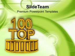 Top 100 Winners Competition Concept Powerpoint Templates Ppt Themes And Graphics 0113