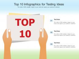 Top 10 For Testing Ideas Infographic Template