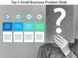 Top 4 Small Business Problem Slide