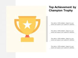 Top Achievement By Champion Trophy