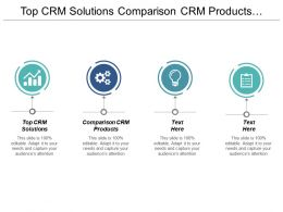 Top Crm Solutions Comparison Crm Products Customer Management Cpb