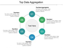 Top Data Aggregation Ppt Powerpoint Presentation Icon Inspiration Cpb