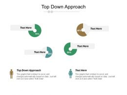 Top Down Approach Ppt Powerpoint Presentation Gallery Template Cpb