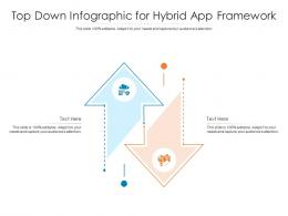 Top Down For Hybrid App Framework Infographic Template