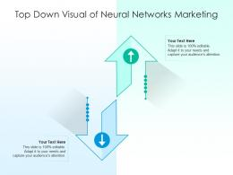 Top Down Visual Of Neural Networks Marketing Infographic Template