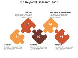 Top Keyword Research Tools Ppt Powerpoint Presentation Icon Background Images Cpb