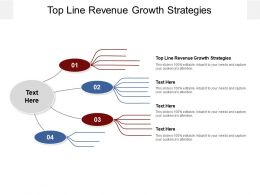 Top Line Revenue Growth Strategies Ppt Powerpoint Infographic Template Cpb