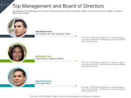 Top Management And Board Of Directors Team Raise Funding Short Term Bridge Financing