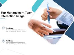 Top Management Team Interaction Image