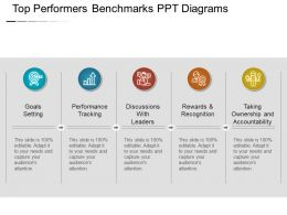 Top Performers Benchmarks Ppt Diagrams