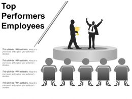 Top Performers Employees Ppt Examples