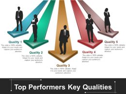 Top Performers Key Qualities Ppt Ideas